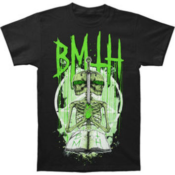 Bring Me The Horizon Men's  Double Skeleton T-shirt Black Rockabilia