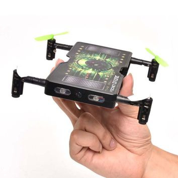 Folding Mini Selfie Drone with 2.0MP HD Camera 2.4G RC Quadcopter