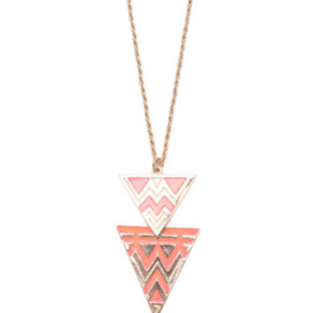With Love From CA Tribal Coral Necklace at PacSun.com