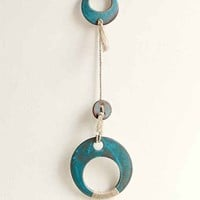 Cathy Callahan X Mt. Washington Pottery Turquoise Wall Hanging