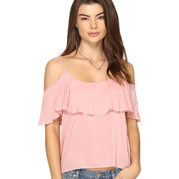 BB Dakota Delafield Off the Shoulder Tank Top Rose - Zappos.com Free Shipping BOTH Ways