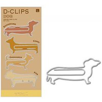 Large Puppy Dog Animal Themed Dachshund Corgi Pug Shaped Paper Clips