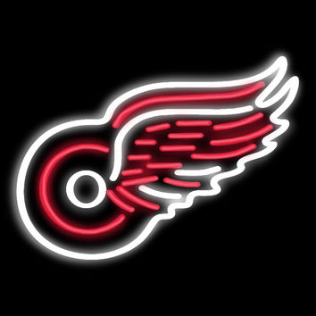 Detroit Red Wings Neon Sign