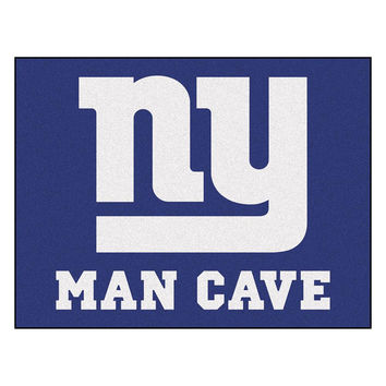 New York Giants NFL Man Cave All-Star Floor Mat (34in x 45in)