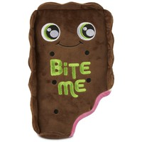 Leaps & Bounds Bite Me Ice Cream Sandwich Plush Dog Toy | Petco