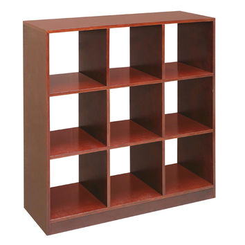 Badger Baskets 3x3 Storage Unit (Cherry)