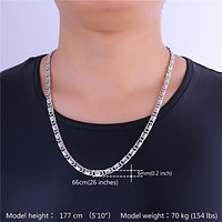 Stainless Steel Snail Chain Necklace