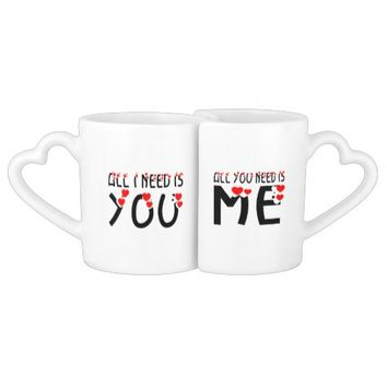 All We Need Is We Couples Coffee Mug