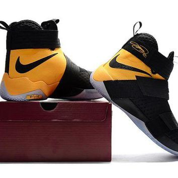 DCCK Nike LeBron Soldier 10 X 'Game Yellow'