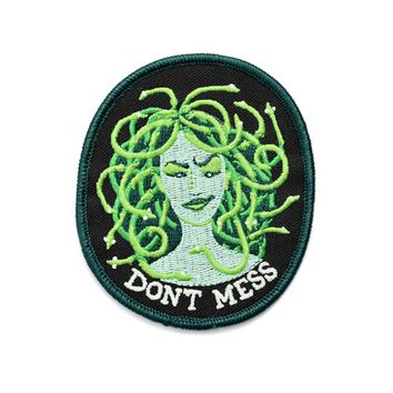 Don't Mess With Medusa Patch