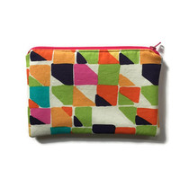 Waterproof Make Up Bag, Zippered Cosmetic Case, Water Resistant Make Up Pouch