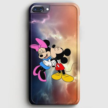 Mickey Mouse And Minnie Mouse Cute Couple Cartoon iPhone 8 Plus Case | casescraft