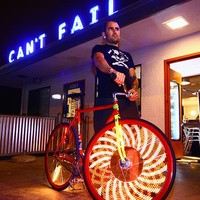 Light Up Bike Spokes, LED Bicycle Spokes - Opulentitems.com
