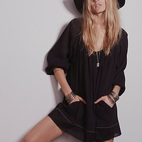 Womens Pop Stitch Swing Tunic