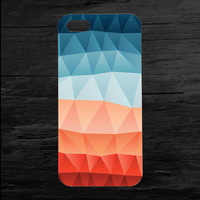 Triangle Aztec Printed iPhone 4 and 5 Case