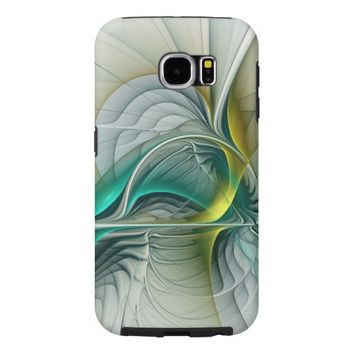 Fractal Evolution, abstract Art Samsung Galaxy S6 Case
