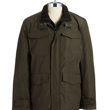 Andrew Marc Button-Down Walker Jacket