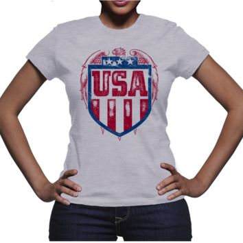 Women's USA T-Shirt