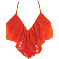 The Girl and The Water - l space aliza, paprika, halter, bikini