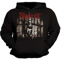 Slipknot - The Grey Chapter Skeleton Adult Pullover Hoodie