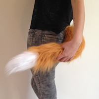 Fox Tail - Clip On Fox Costume