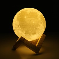 3D Moon Lamp USB LEd Night Light Moonlight