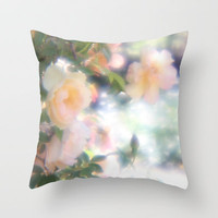 enchanted garden Throw Pillow by Marianna Tankelevich