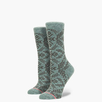 Stance Valley Womens Socks Seafoam One Size For Women 24853252401
