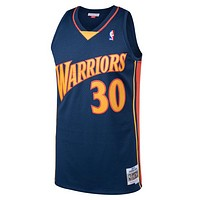 NBA Golden State Warriors Stephen Curry Mitchell & Ness 2009-10 Hardwood Classics Swingman Jersey