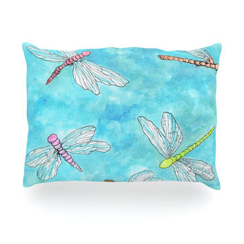 "Rosie Brown ""Dragonfly"" Oblong Pillow"