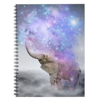 Don't Be Afraid To Dream Big • (Elephant) Notebook