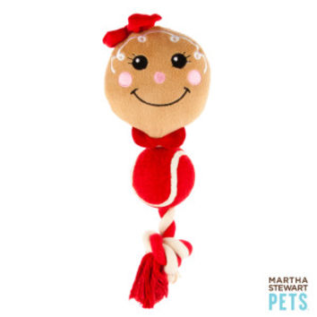 Martha Stewart Pets™ Tennis Ball Body Gingerbread Boy/Girl - Martha Stewart Pets - Dog - PetSmart