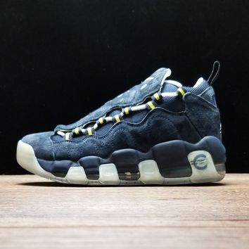 "[Free Shipping ]Nike Air More Money ""French Euro"" AJ7383-400 Basketball Shoes"