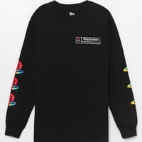 Playstation Logos Long Sleeve T-Shirt at PacSun.com