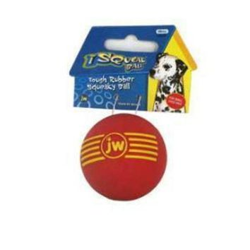 LMFYN5 JW Pet Company iSqueak Ball Small Dog Toy