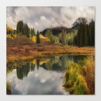 Transition by OLena Art Canvas Print by Lena Owens/OLenaArt