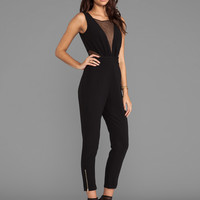 Lumier Beautiful Mistakes Jumpsuit in Black