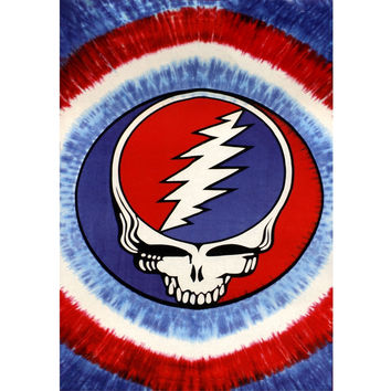 Grateful Dead - Red White & Blue Steal Your Face Tapestry
