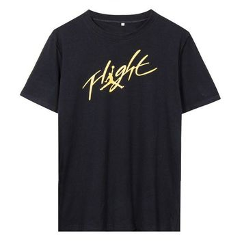 DCKL9 Michael Jordan Signature Jumpman Flight T-shirt t shirt Clothing Slim T-shirts tops te