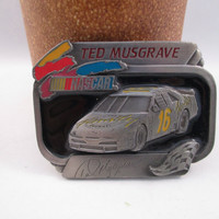 Ted Musgrave NASCAR Belt Buckle  Free Shipping - FL