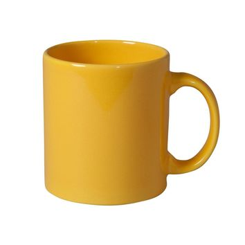 Ben and Jonah Coffee Mug Set of 4 (Yellow)