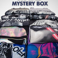 5 Count Mens Cut Star Wars T-Shirt Mystery Box