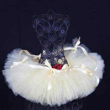 Belle inspired tutu, Disney Tutu, Run Disney Tutu,