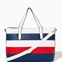 Americana Stripes Tote | Fashion Handbags – Modern Americano | charming charlie