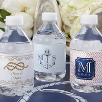 Opentip.com: Kate Aspen 31300NA Personalized Water Bottle Labels - Kate's Nautical Wedding Collection