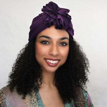 Plum Flower Turban