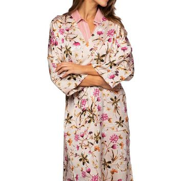 Bed to Brunch Kimono in Mystic Floral