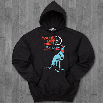 twenty one pilots australia hoodie unisex adults.
