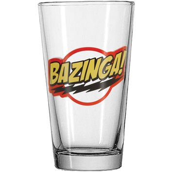 Big Bang Theory - Pint Glass