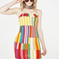Bring The Fun Colorblock Dress